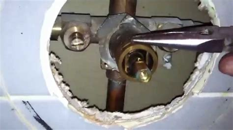 how to replace tub shower faucet moen 1225 cartridge replacement on shower valve