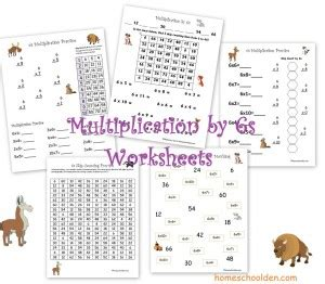 skip counting and multiplication practice 2s 3s 5s and