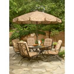 jaclyn smith cora dining table with lazy susan outdoor