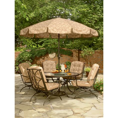 kmart smith patio table smith cora dining table with lazy susan outdoor