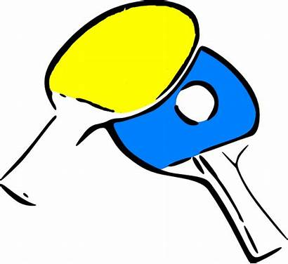Ping Pong Stuff Clipart Tennis Clip Table