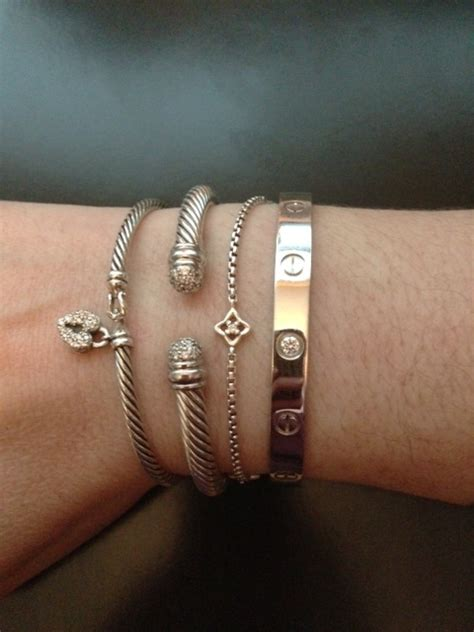 arm candy   stack   cartier love