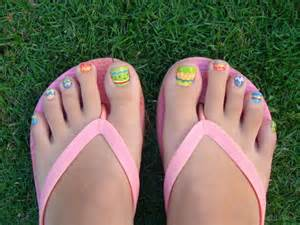 Easter egg toe nail designs easter egg toe nail designs view images adorable easter toe nail art designs prinsesfo Image collections