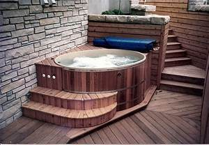 Www Softub De : softub hot tubs amenity round cedar hot tub kit salt water spas en 2018 pinterest piscine ~ Markanthonyermac.com Haus und Dekorationen