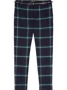 pantalons a carreaux maison scotch femme droit pantalons With pantalon à carreaux femme