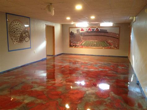 epoxy flooring basement cost metallic epoxy flooring pcc columbus ohio cost to epoxy