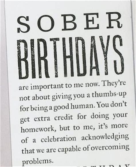 quotes sobriety birthdays
