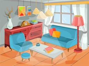 livingroom modern vector illustration of a cozy interior of a home room a living room vector free