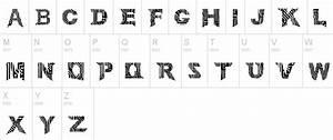 Labyrinthic Fonts