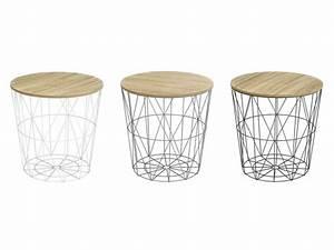 Table D Appoint Haute : meuble et rangement salle de bain pas cher promo et ~ Nature-et-papiers.com Idées de Décoration