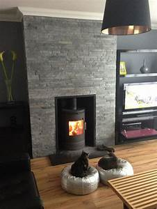 The 25+ best Grey stone fireplace ideas on Pinterest