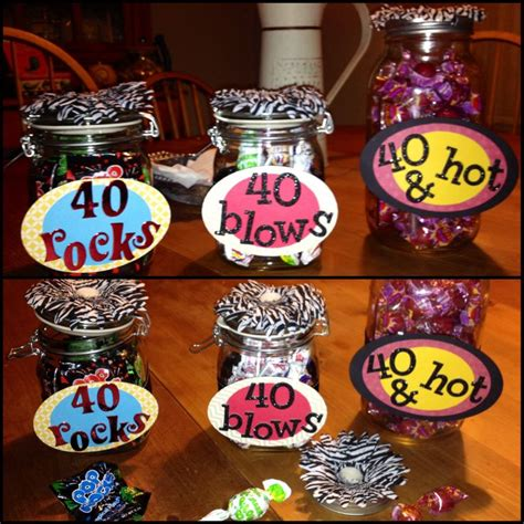 40th Birthday Decorations by 25 Best Ideas About 40th Birthday Favors On