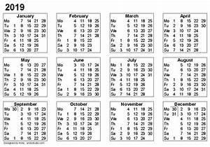 Kalenteri 2019 2 2019 2018 Calendar Printable with