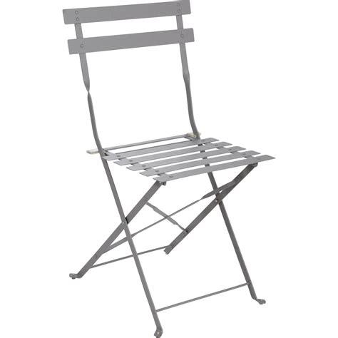 leroy merlin chaise de jardin chaise de jardin en acier flore gris leroy merlin