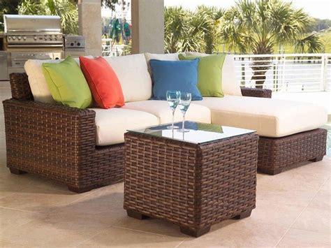 Colorful Sectional Sofas by Muebles Mimbre Dentro Y Fuera De La Casa Moderna