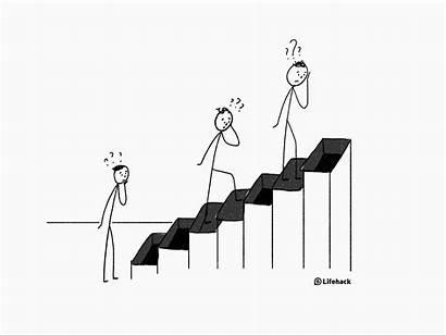 Ladder Career Climbing Climb Moving Corporate Five