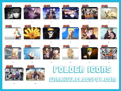 Anime Icons 2017 Windows 10 20 Folder Icons Anime Shippuden Windows 7 8 10