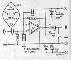 This The Circuit Diagram Power Audio Amplifier