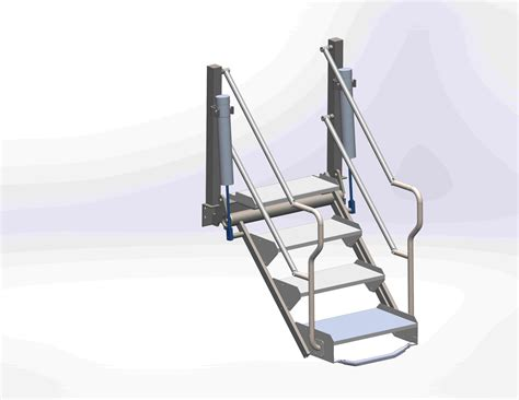 folding staircase flow step folding stairs ifc inflow