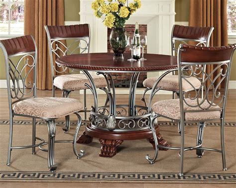 dining set omari  acme furniture acset