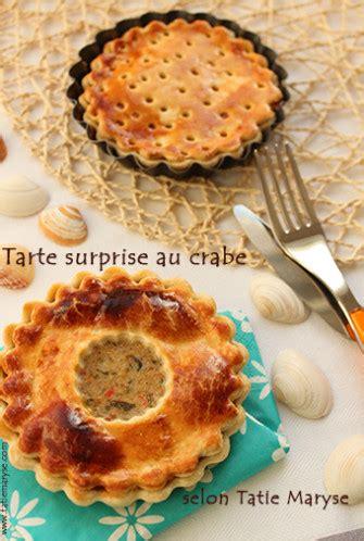 la recette de tarte au crabe simple  efficace