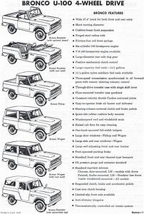 1968 Ford Bronco  I Love Reading These Vintage Ad Things