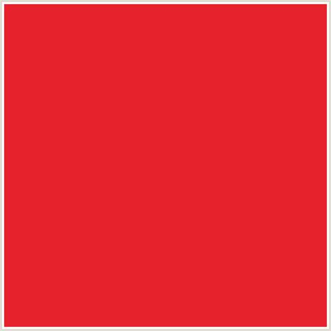 crimson color code e6222c hex color rgb 230 34 44 alizarin crimson