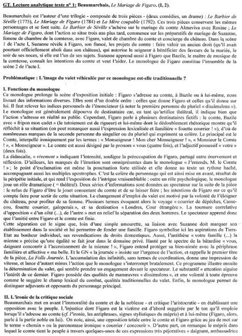 le mariage de figaro analyse acte 1 scène 8 premi 232 re s2 2011 2012 le mariage de figaro acte i sc 232 ne
