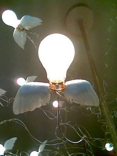 light bulbs with wings at s phone pic toilet page