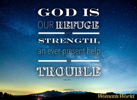 I remember hearing billy graham say he often grew frightened before preaching in great. Bible quotes about strength