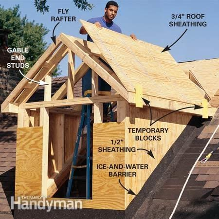 A Frame Dormer by How To Frame A Gabled Dormer Attic Attic Remodel Cape