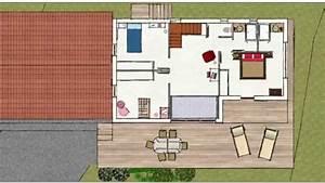 maison individuelle 4 plans rdcetage youtube With plan maison moderne 3d 1 plan maison moderne en t ooreka