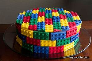 DIY LEGO Cake If You LEGO Come Have A Look At LEGO