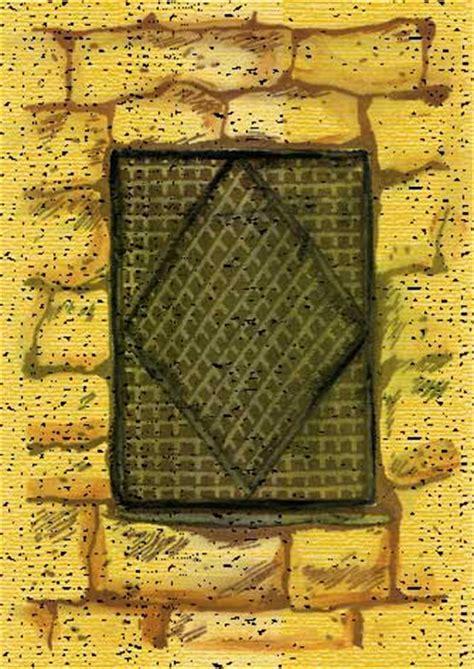 ancient lattice windows bible history