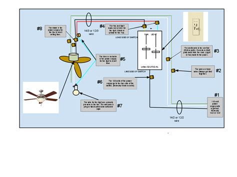 wiring a ceiling fan with remote and wall switch diagram how to wire a ceiling fan with light 80 000 hour