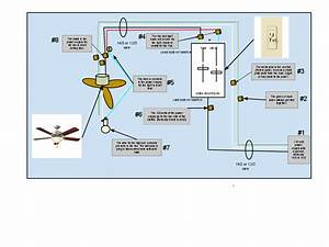 Ceiling lighting how to wire a fan with light
