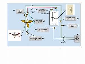 Ceiling fan light switch wiring : Gen electric  ceiling fan light switch and