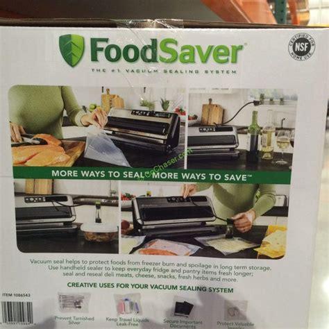 foodsaver fm automatic vacuum sealing system costcochaser