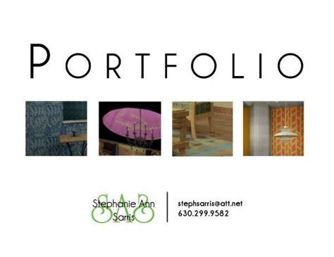 sarris s portfolio cover page