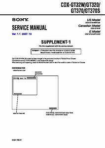 Picture Of Sony Cdx Gt320 Wire Diagram For
