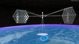 US Navy developing giant solar array for space ...