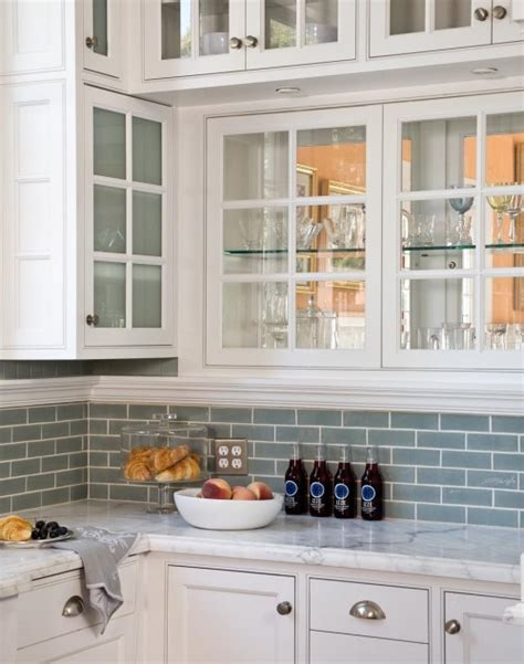 blue glass tiles kitchen blue glass tile transitional kitchen artistic 4810