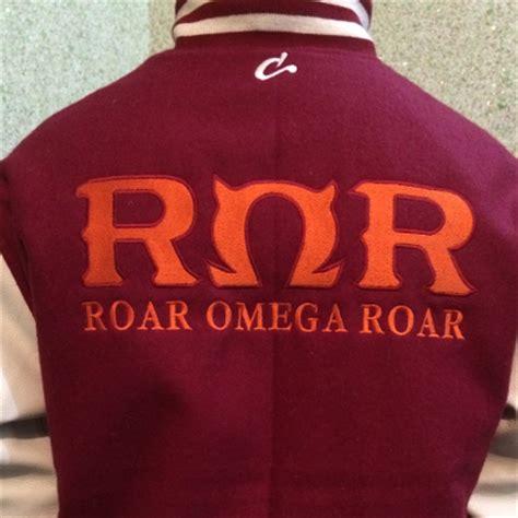 Omega Maroon maroon varsity jacket