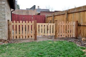 outdoor updates garden fence ash and orange