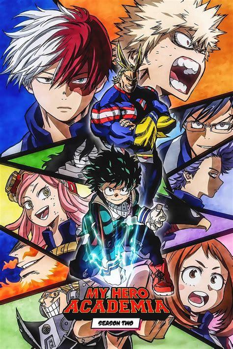 hero academia anime poster  hot posters