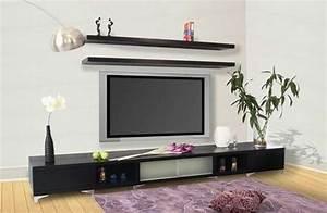 Table Tv Design : 4 decorative tv stand design ideas interior design ~ Teatrodelosmanantiales.com Idées de Décoration
