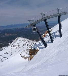 Mammoth Mountain  Upper Terrain Off Of The Gondola And