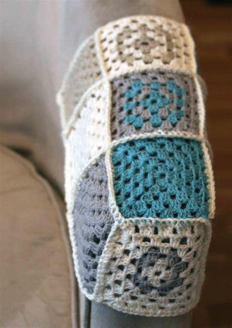 Crochet Pattern For Armchair Covers by Crochet Arm Rest Cover كروشيه Crochet Crochet