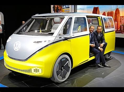 vw id buzz review  vw campervan  electric vw id