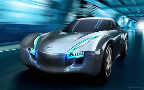Nissan Electric Car by 2011 Nissan Electric Sports Concept Car Wallpaper Hd Car